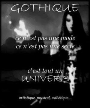 GOTHIQUE : CULTURE & UNIVERS