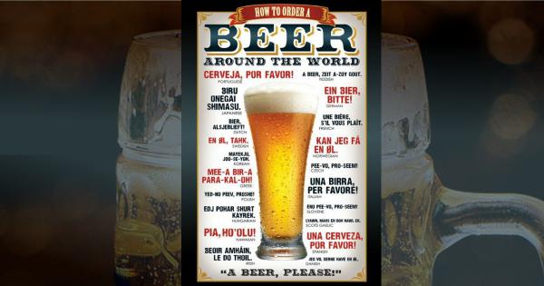 biere en plusieurs langues