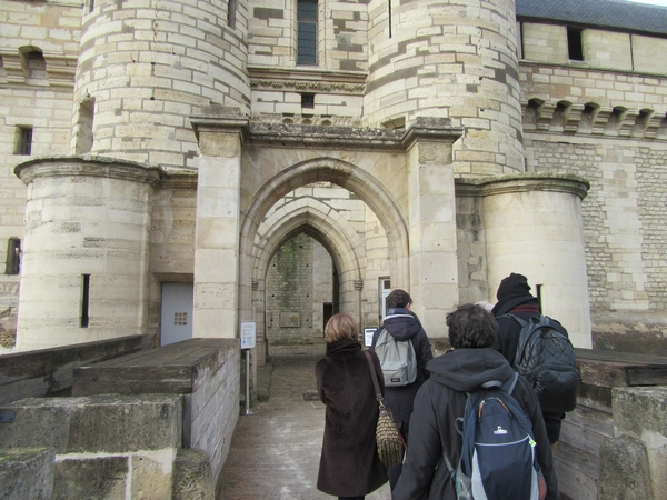 Le château de Vincennes, visité avec la Compagnie des Gens
