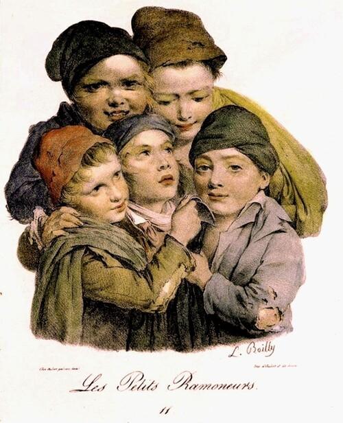 Les Petits Ramoneurs (L. Bailly. 1824)