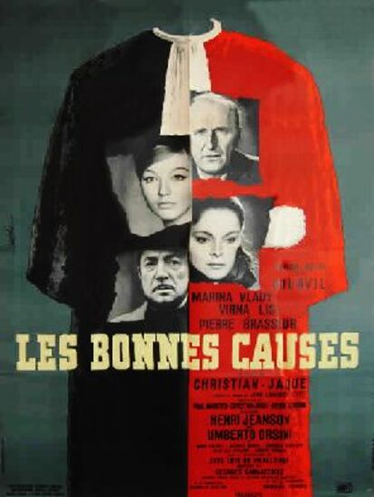 LES BONNES CAUSES - BOX OFFICE BOURVIL 1963