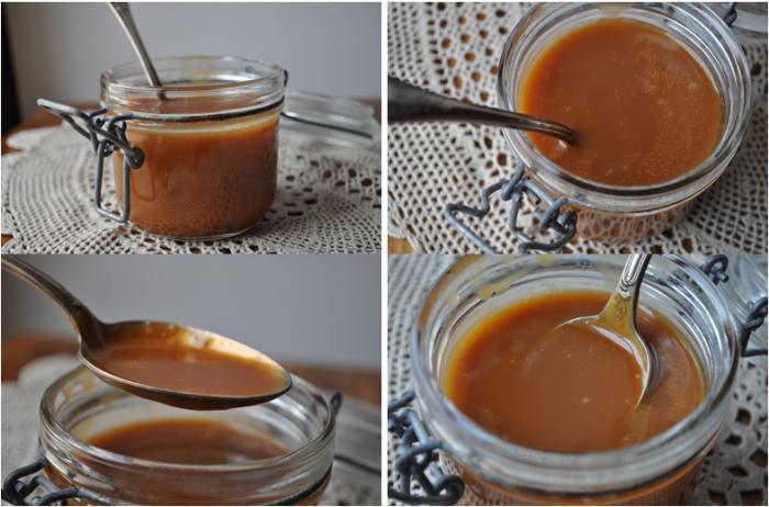 Caramel au beurre salé allégé