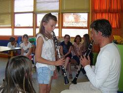 Découverte de la clarinette