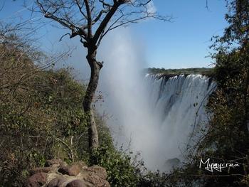 5 chutes victoria côté zambie