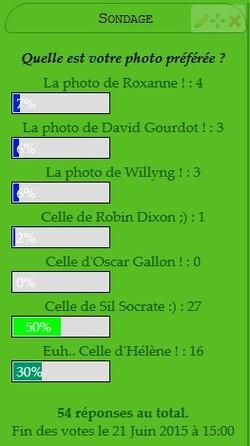 Résultat final- Concours de Photos n°2