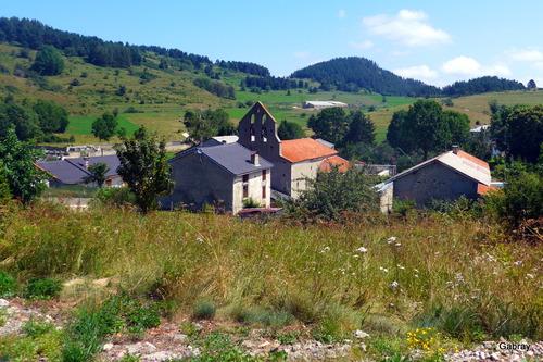 Camurac: village de l'Aude