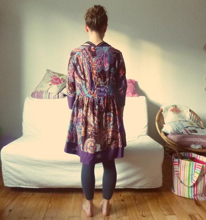 La robe de témoin