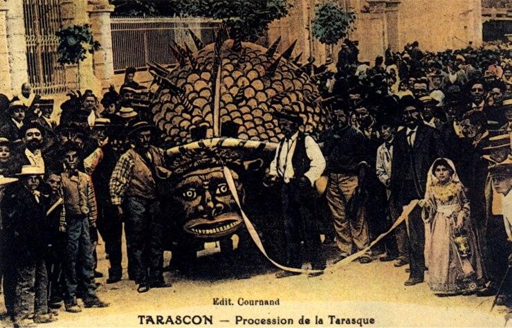 """MARSEILLE - Mamiekéké vous conte la légende de """"LA TARASQUE"""" de Tarascon ."""