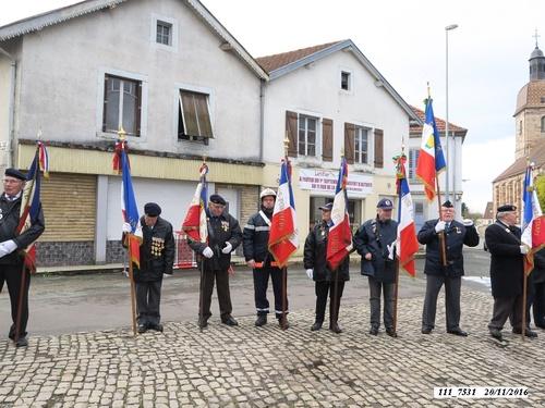 """*  Commémoration """"72ème anniversaire de la Libération de Frahier, Plancher-Bas, Champagney et hommage au général Brosset."""