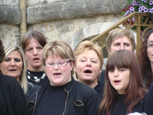 Les Cent Voix à la fête de la Musique