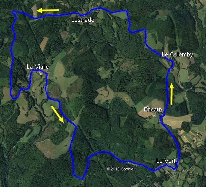Le long de la Creuse (20/22) : Circuit de Meymac