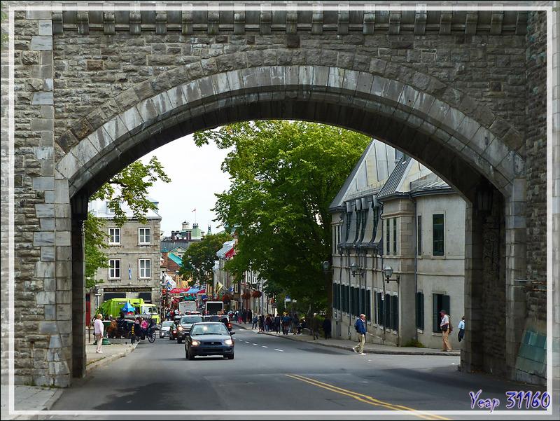 Entrée dans le Vieux Québec par la Porte Saint-Louis - Canada