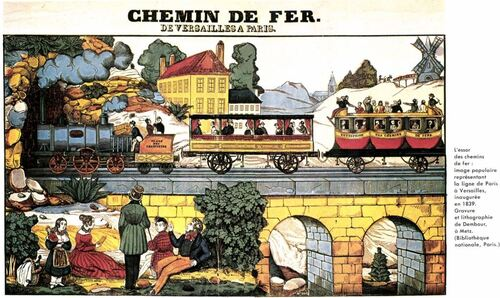 Révolution industrielle: le train