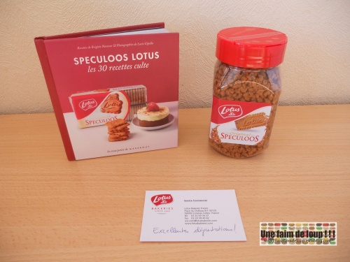 Nouveau partenariat gourmand : Speculoos Lotus