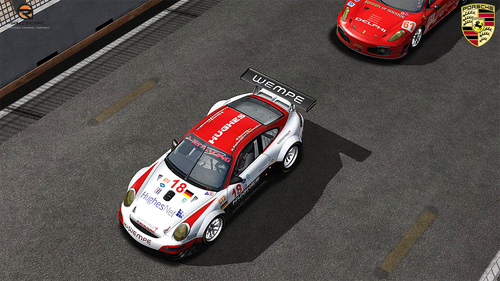 Team Vici Racing Porsche 997 RSR - ALMS08