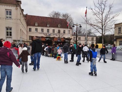 La patinoire en décembre 2011...