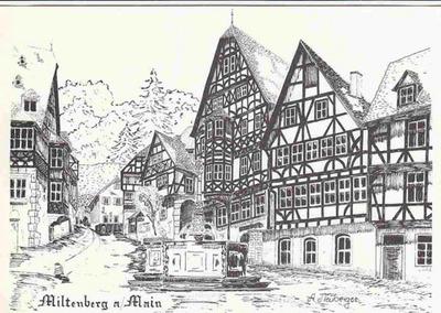 Blog de lisezmoi :Hello! Bienvenue sur mon blog!, L'Allemagne : La Bavière - Miltenberg - (la perle du Main)