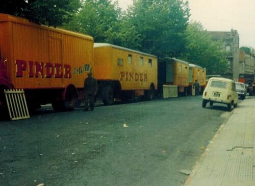 matériel du cirque Pinder JR en 1973 (2)