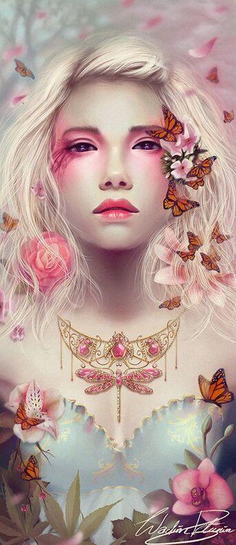 J'adore les papillons