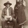 Big John and family. Comanche. ca. 1898. Photo by J.E. Irwin. Source - Yale Collection of Western Am