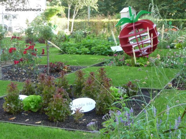 Joli ce jardin....