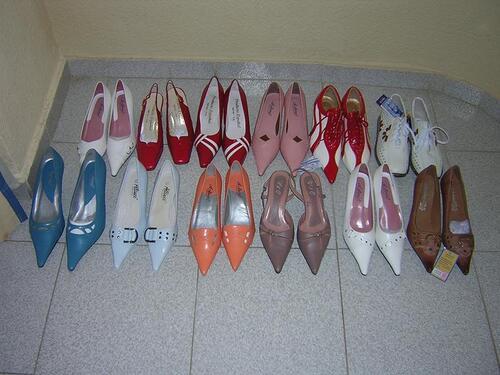 chaussures folles...ou de fofolle?