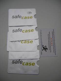 MOTRTM 5 étuis de protection de cartes bloquant les signaux RFID / NFC