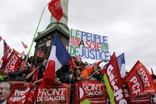 Discours de Melenchon à la Bastille