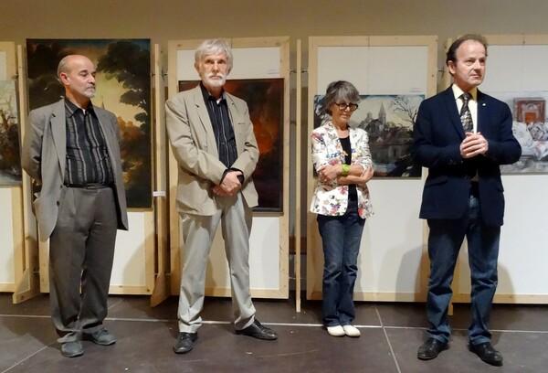 Vernissage du Salon 2015 des Peintres des Amis du Châtillonnais