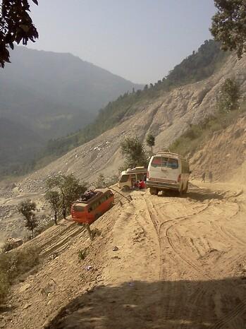 Tatopani, Kodari : l'expédition ! (01 au 03/11/14)