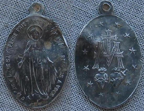 Médaille religieuse  miraculeuse