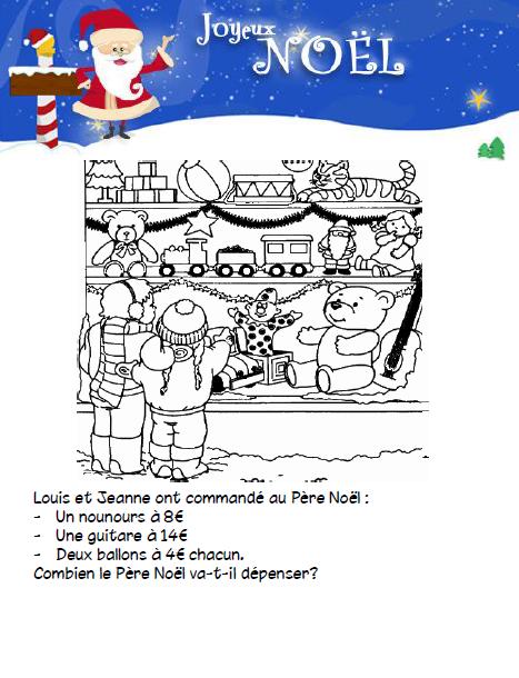 Une Activité Par Jour Avant Noël Lécole De Crevette