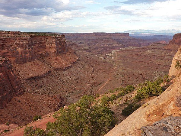 Jour 6 Canyonlands Overlook soir