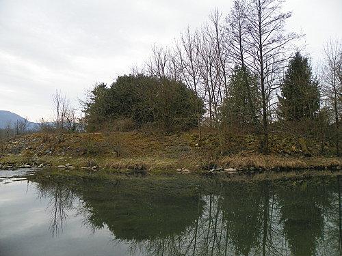Brens ( bord du Rhône )
