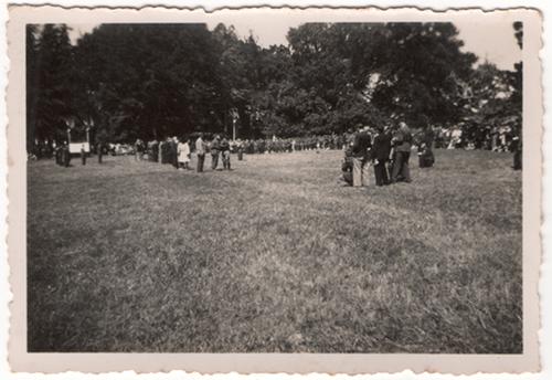 Juillet 1947 - En image - Inauguration du Monument de la Nouette