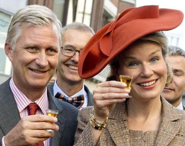 Mathilde et Philippe à Namur
