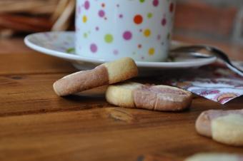 Damiers cerise-vanille
