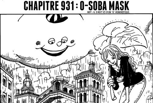 One Piece Scan chapitre 931 en VF Version Française - Lecture en Ligne