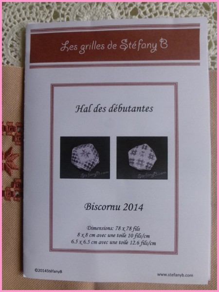 Biscornu 2014