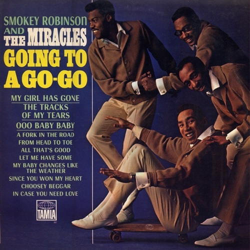 "Smokey Robinson & The Miracles : Album "" Going To A Go-Go "" Tamla Records TS 267 [ US ]"