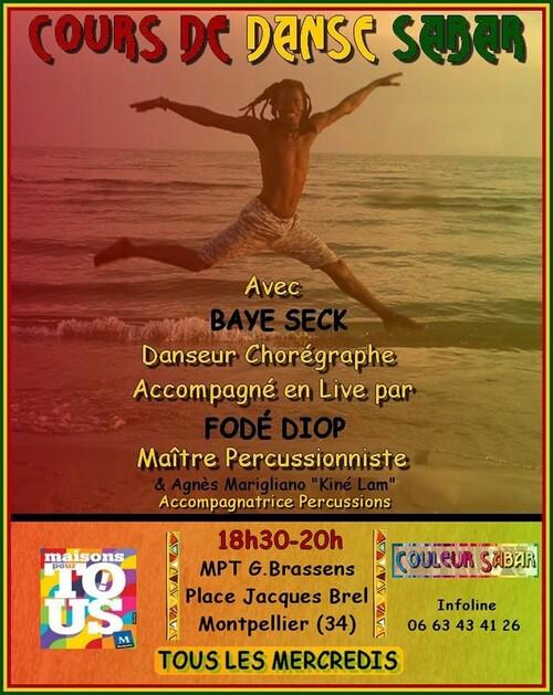 ★ Cours & Stages Danses Sabar [Les Mercredis]