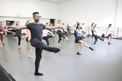 dance ballet class larry keigwing step class
