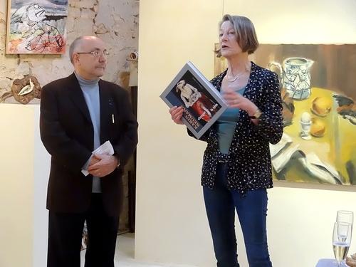 Karin Neumann publie un magnifique livre d'art, illustré de poèmes de Michel Lagrange...