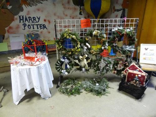 Le Marché de Noël 2012 de l'Ecole Saint Bernard...