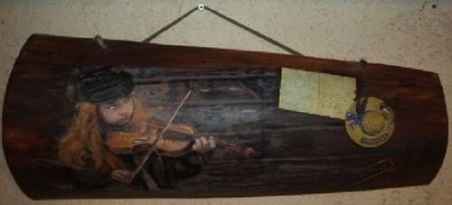 "La Petite violoniste de la rue"""