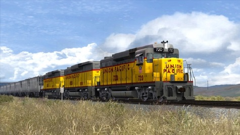 Train Simulator Union Pacific GP30 Infos