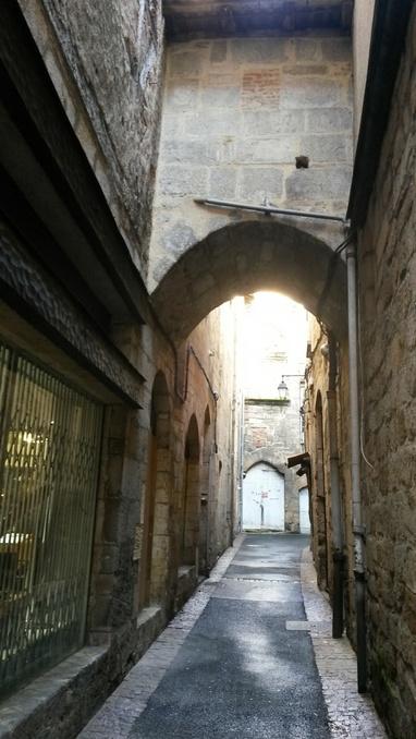 Figeac ( 46) Ville natale de J. F Champollion