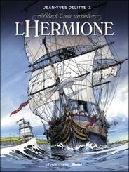 Couverture L'Hermione, la conspiration pour la liberté