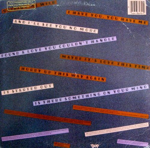 """1980 : The Stylistics : Album """" Hurry Up This Way Again """" TSOP Records JZ 36470 [ US ]"""