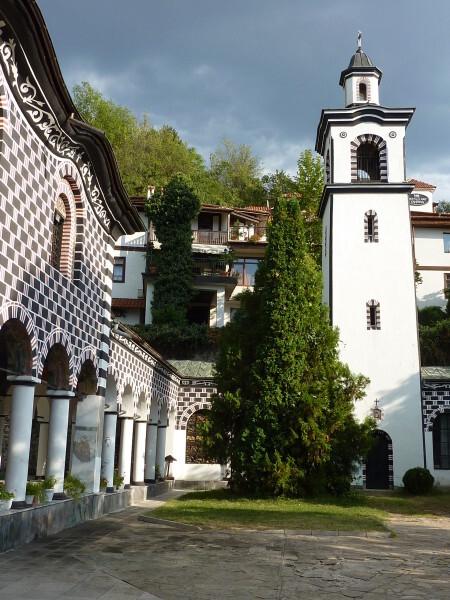 Jour 3 - Blageovgrad - l'église extérieur